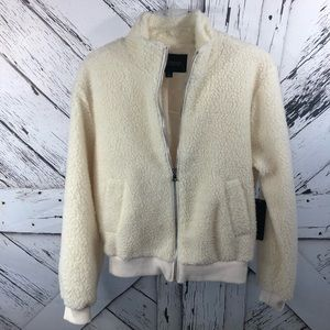 Ambiance | Wooly zip up jacket